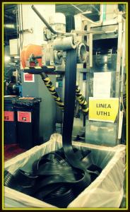 processo produzione gomma