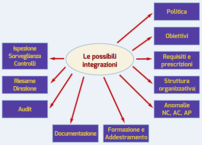 Figura 1. Potenziali sinergie di gestione